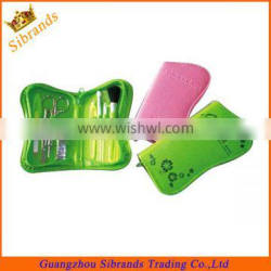 Fashional Green Color Manicure Set / Nail Care Set