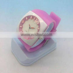 Fashion silicone womens jelly wrist watches wholesale
