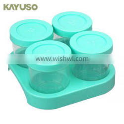 Plastic Safe Baby Food Storage Containers BPA Free