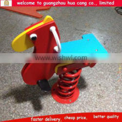China hotsale children small spring rides for sale