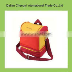 Wholesale tactical 300D oxford insulted cooler bag with long belt