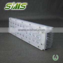 aluminum extrusion pipe cooling fins