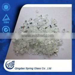 0.1-4.0mm Crushed Clear Glass Mirror China