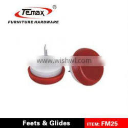 FM25 Plastic Furniture Felt Nail On Glides