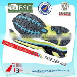 high quality durable men hard shoes sole for sport shoes