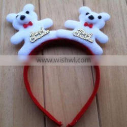 The popular hair band & head band with Santa Claus for girls christams hair accessory with cheap price