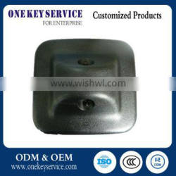 Wide-angle mirror assembly for car