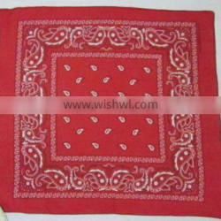 2017 new Cotton paisely Bandana from India