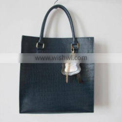 2014 croco leather tote bag high quality lady tote bags