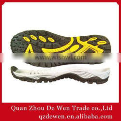 35#-46# Hiking Shoe Outsoles Hot Sale In China