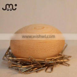 Popular smooth wooden egg toy