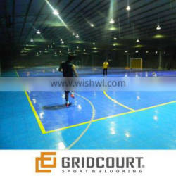 GridCourt hight quality indoor soccer flooring