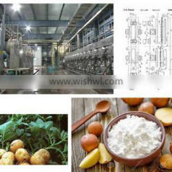 starch processing line