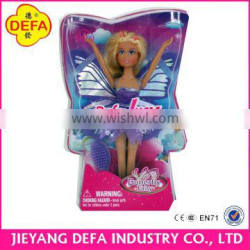 2015 New design doll hot selling flying butterfly fairy doll with wings 8121 from China ICTI manifactory