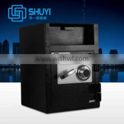 """2015 Hot sell 18.9""""(480mm) height deposit safe box with front loading from factory"""