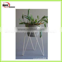 Chinese Factory Flower Pot Rack Hot Sale Iron Flower Pot Stand Plant Display Rack