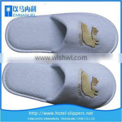 Tan interior wholesale hotel disposable summer slippers for women