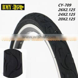 high quality bicycle tyres 20x2.125 bicycle parts black mountain bike tires 20x2.125 for sale