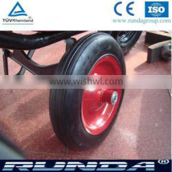 recycle rubber material solid wheel