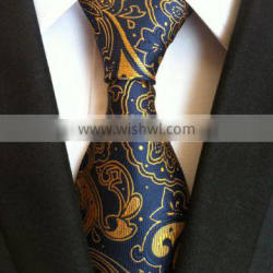 HDYF-10 Wholesale high quality1200 needles men 100% polyester neck ties