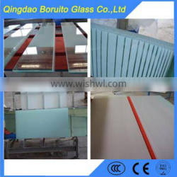 Hot sale 8mm printing glass door