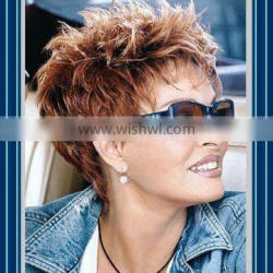 April Wigs Discount -Short Wigs With Bangs-Short Fashion Wigs - Sell Synthetic hair