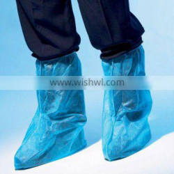 disposable boot cover with non-slip bottom