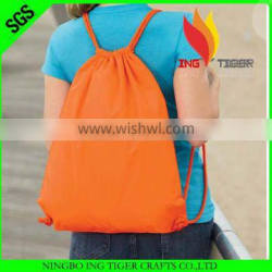 2016 Hot Sales For Promotion Imprint Customized Logo Name Backpack Women