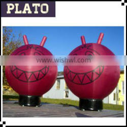 Large cute inflatable helium ball for display/decorative helium balloon for attraction