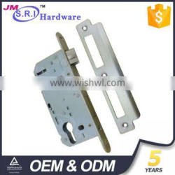 Stainless steel and iron material french door mortise lock