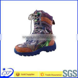 Genuine leather rubber outsole mens altama military boots