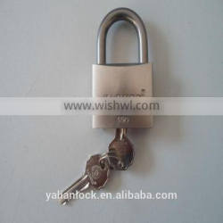 Best Quality Short Shackle Stainless Steel Padlock With Computer Key