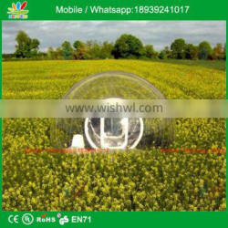 Logo Printed 4m Dia Inflatable Transparent Bubble Tent For Advertising