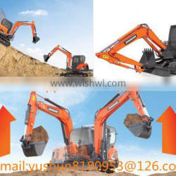Doosan DX75-9C Excavator buckets, Customized DX75 Excavator Standard 0.91M3 buckets Made in Linyi City China