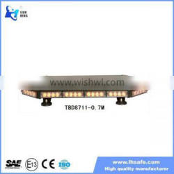 High quality magnetic mounts mini Light bar, magnetic mini bar for police/ fire/ambulance vehicle TBD8711W