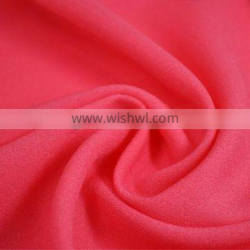Polyester Faille Fabric imitated silk Crepe De Chine