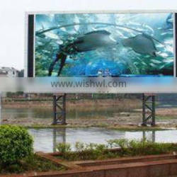 New and Transparent Outdoor Full Color p7 LED Advertising Screen