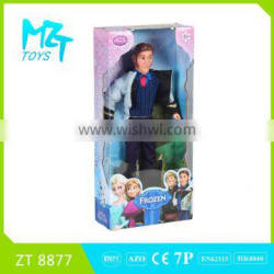 2015 New !Eco-friendly PVC11 Inch Movable Joints barbie princess+prince(4 Model Mixed) Barbie Doll