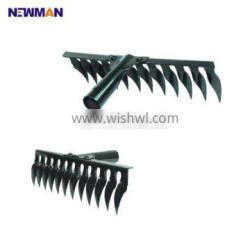 Strict Time Control Supplier Olive Rake, Green Spray Paint Lawn Rake