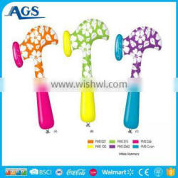 factory price kids play funny custom inflatable hammer