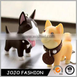 New Products for Bag Decoration Cute Dog Plastic Acrylic keychain