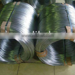 Hot dipped galvanized armoured cable steel wire