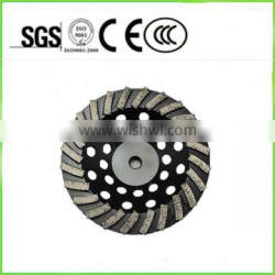 Diamond Turbo Cup Wheel tools 30 # Grinding Disc For Concrete