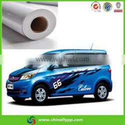 outdoor removable Glue PVC Vinyl Sticker for outdoor promotion sticker