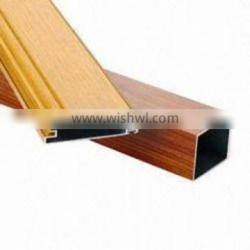 extruded aluminum wood effect profiles for windows