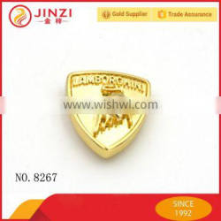 Logo Embossed Shiny Metallic Rivet Button for Belt