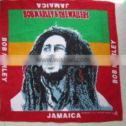 100% cotton jamaica bandana