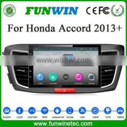 2016 NEW HOT SELLING car multimedia player for Honda ACCORD Android 4.4.4 OBDII 1.6GHz MCU 3G WiFI