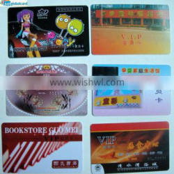 Just Global Card contact ic card with SLE5542 with full color and the colorful design