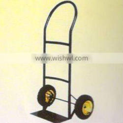 portable specification standard two wheels convenient Multi-function stainless platform hand trolley ht1413 load 100kg